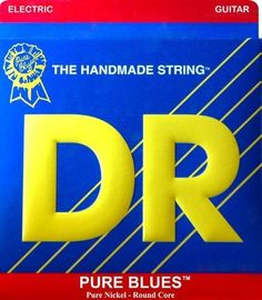 DR Strings Pure Blues Pure Nickel Wrap Round Core 9-42 by DR Strings. $6.09. Newer isn't always the same as better — ask any blues cat and they'll tell you that the same 12 bars have been doing the trick for a good long while. And just like the blues, DR's Pure Blue strings rely on a time-tested, traditional method to bring out the soul of the music. Each old-style Pure Blue string has a smooth round core, and they're only wrapped in pure nickel. Sure, it's a slow an...
