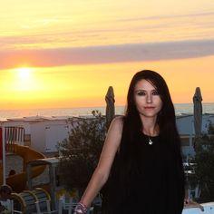 #sunset #knokke #me #holiday #sunshine #summer