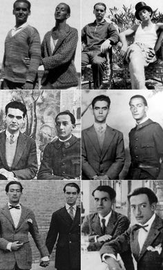There are rumors of Federico Garcia Lorca and Salvador Dali being in a secret relationship. Robert Mapplethorpe, Writers And Poets, Annie Leibovitz, Richard Avedon, Andy Warhol, High Society, Salvador Dali Kunst, Bert Stern, Book Writer