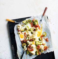 Vegetable Pizza, Eggs, Vegetables, Breakfast, Food, Anna, Morning Coffee, Essen, Egg