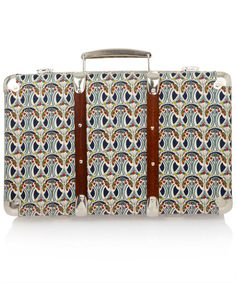 Liberty print suitcases from Liberty of London!