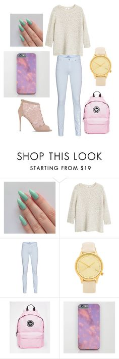 """""""random"""" by udontknowme1267 on Polyvore featuring MANGO, 7 For All Mankind, Komono, Hype and Dolce&Gabbana"""