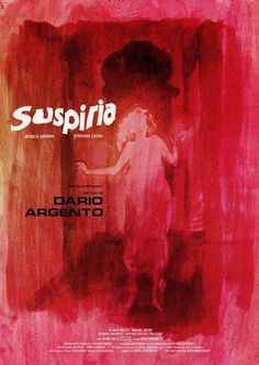 "Poster for ""Suspiria"" - 1977 by Dario Argento. Horror Movie Posters, Cinema Posters, Movie Poster Art, Film Posters, Horror Movies, Cult Movies, Dario Argento, Movie Covers, Beautiful Posters"