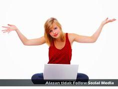 5 Alasan Audiens tidak Follow Sosial Media Perusahaan Anda >> http://goo.gl/sso89R