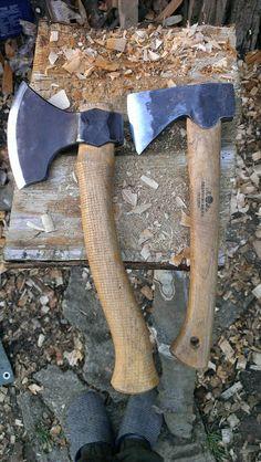 Little viking axe and Gransfors wildlife hatchet