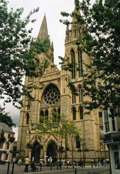Truro Cathedral... Cornwall (UK)...