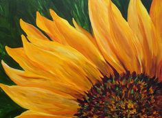 Sunflower From Summer Painting  - Sunflower From Summer Fine Art Print