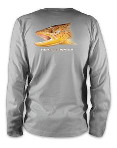 Brown Trout Performance Long Sleeve Tee