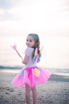 Childrens Set of 3 Girls Pink Fairy Coat Hooks