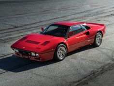 The first Ferrari 288 GTO officially delivered to  Japan (bought new by Yoshiho Matsuda).