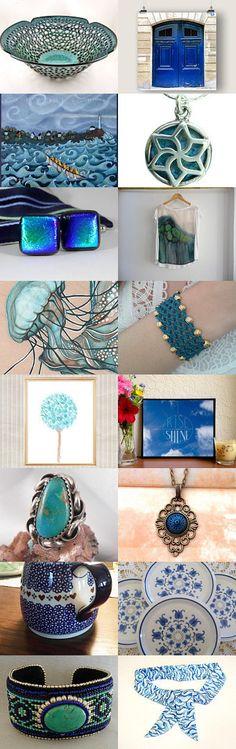 https://www.etsy.com/treasury/MTkxOTg3MjZ8MjcyNzU4ODEwNA/blue-turquoise-cool-and-lovely #Etsyvintage #Estyhandmade #freshfinds