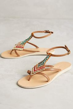 Cocobelle Arrow Sandals - anthropologie.com