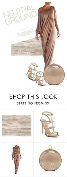 """Neutral style"" by emeselanyi ❤ liked on Polyvore featuring WALL, Valentino and Halston Heritage"