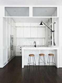 love a white kitchen