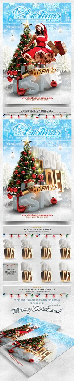 Christmas Sale Flyer Template PSD | #christmasflyer #flyertemplate | Buy and Download: http://graphicriver.net/item/christmas-sale-flyer-template/9644279?WT.oss_phrase=flyer&WT.oss_rank=71&WT.z_author=Zheq&WT.ac=search_thumb&ref=ksioks