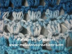 Your place to learn how to Make The Angel Stitch for FREE. by Meladora's Creations - Free Crochet Patterns and Video Tutorials