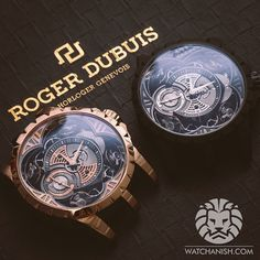 Quatuor x2 = 8 balance wheels in one picture Roger_Dubuis watches.