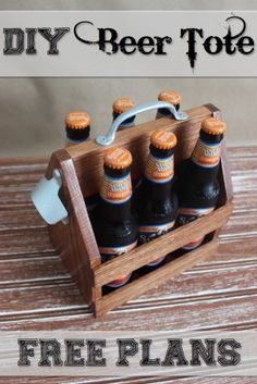 DIY Beer Tote | Free Plans | Rogue Engineer | Pin Me