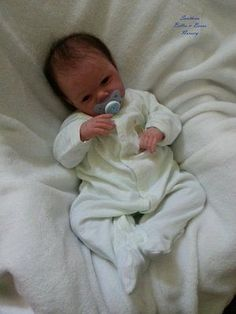 Reborn Baby Gabriel by Michelle Fagan ~ Southern Belles & Beaus Nursery ~