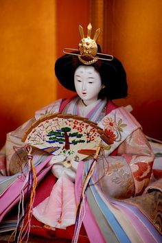 Hina doll from Japan's Girl's Day