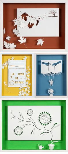 Daniel Mar Paper Art