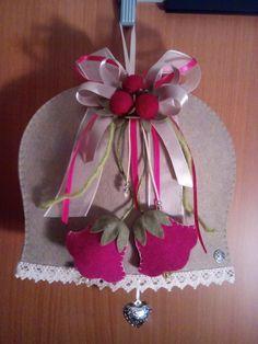 Campana 1 Felt Decorations, Christmas Decorations, Holiday Decor, Easter Crafts, Christmas Crafts, Christmas Ornaments, Hobbies And Crafts, Diy And Crafts, Shots Ideas