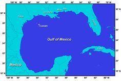 23 Best Gulf of Mexico Maps images