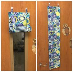 Small curtain for classroom door. For testing and Lock-Down Drills