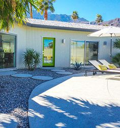 Mid Century Palm Springs Butterfly