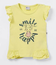 Blusa Infantil com Estampa - Tam 0 a 18 meses  - Lojas Renner