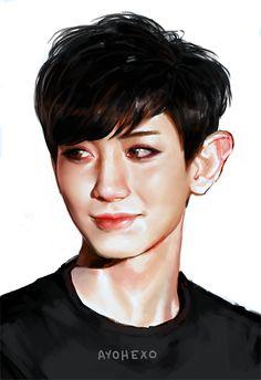 ayohexo • EXO fanart • Chanyeol