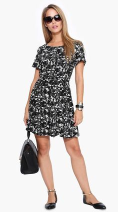 Forest Dress in Black