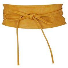fa667586c64 Krisp 14987-TAN-OS  Ceinture Obi Bronze 14987 Taille Unique  ceintures