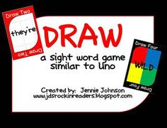 great idea for teaching sight words!