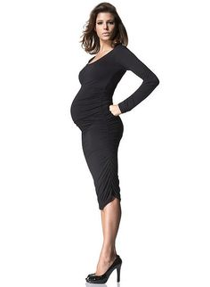 @Ashley Jensen Who says you can't be hot while you're pregnant?