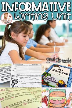 Teach your 2nd grade students all about Informative Writing with this Informative Writing Unit using Step up to Writing. Unit includes Activities, Lesson Plans, Handouts, Posters, Teacher Instructions, Grading Rubric, Craftivity and Answer Keys.  #writingresources #informativewriting