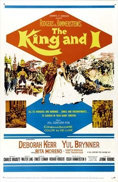 The King And I (1956) This visual and musical masterpiece feature Yul Brynner's Academy Award winning performance, an unforgettable Rodgers and Hammerstein score, and brilliant choreography by Jerome