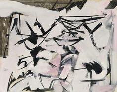 Franz Kline, '47 Series, No. 4,' 1947, Hollis Taggart Galleries