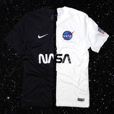 NASA JERSEYS ARE BACK⚫️⚪️ LIMITED EDITION LIMITED AVAILABILITY ONLY AT www.TheConceptClub.com _______________________________________________________ 1 small step for mankind.  #nike #jersey #football #soccer #astronaut #justdoit #champions #concept #club #kit #footyheadlines #ConceptKits #Hypebeast