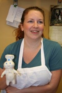 Angela Jiles, Blue Note Bakery owner. A great local #Austin business. Beautifully crafted cakes with #vintage flair