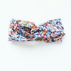 Spring floral turban head-wraps/hwadbands..Infant through adult. www.hartsandpearls.com
