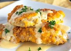 Crispy Cheddar Chicken