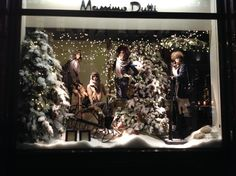 """MASSIMO DUTTI,London UK,""""Flocking refers to the process of covering Christmas trees with artificial snow"""", pinned by Ton van der Veer"""