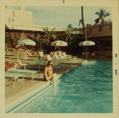 AMERICANA: hotel poolside vacay Jun 1968