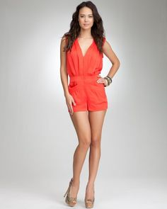 Which romper do you like - I really like this Poppy Red romper
