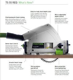 Festool Introduces New Plunge Cut Saw