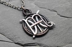 Your place to buy and sell all things handmade Scorpio Necklace, Zodiac Sign Necklace, Zodiac Jewelry, Star Pisces, Pisces And Scorpio, Scorpio And Pisces Relationship, Zodiac Tattoos Pisces, Him And Her Tattoos, Wire Jewelry