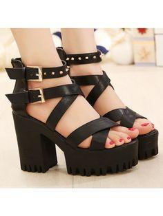 summer platform sandal Dress Sandals from fashionmia.com