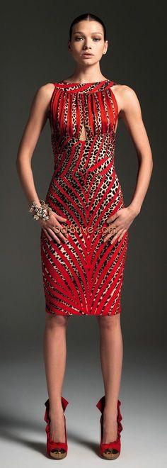 Blumarine Fall Winter 2012 - 2013 Main Collection - Woman: