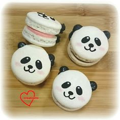 Loving Creations for You: Smiley Panda Assorted Macarons